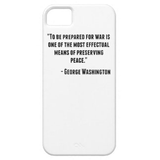 George Washington Quote iPhone 5 Cases