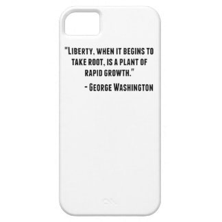 George Washington Quote iPhone 5 Case