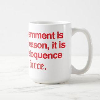 George Washington Quote coffee mug Red