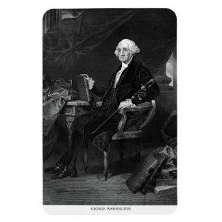 George Washington Rectangular Photo Magnet