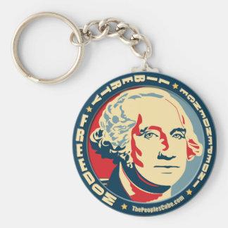 George Washington - revolución: Llavero de OHP