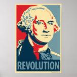 George Washington - revolución: Poster de OHP