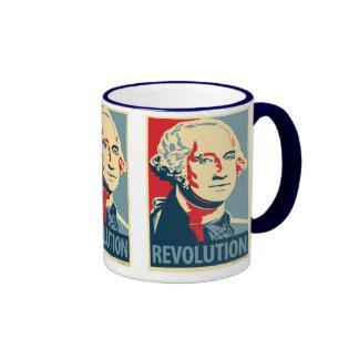 George Washington - revolución Taza de OHP