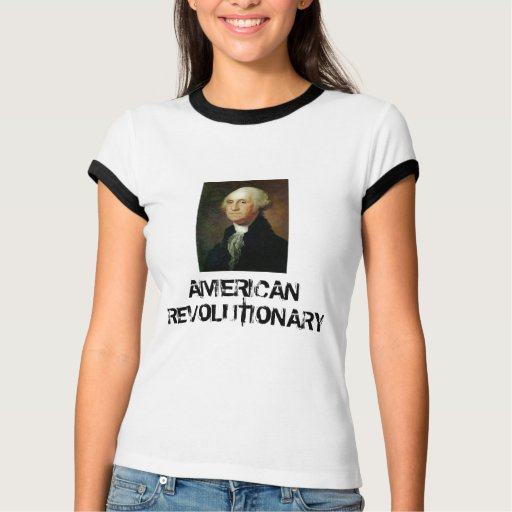 George Washington, REVOLUCIONARIO AMERICANO Playera