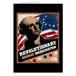 George Washington Revolutionary Postcard