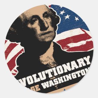 George Washington Revolutionary Stickers