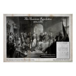 George Washington, Revolutionary War Poster
