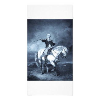 George Washington Salute collector photo cards