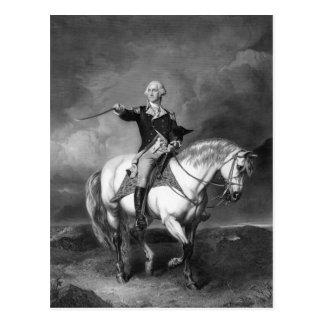 George Washington Salute postcard
