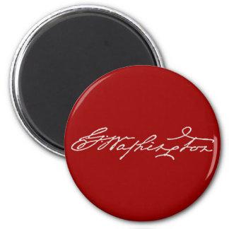 George Washington Signature Magnet