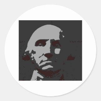 George Washington silhouette Stickers