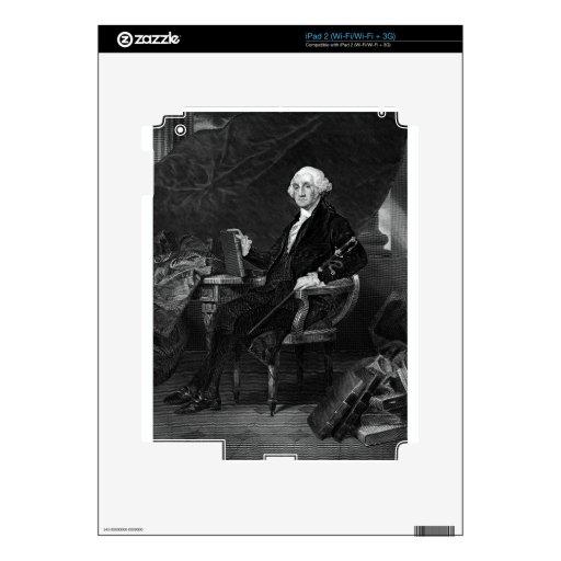 George Washington Decal For The iPad 2