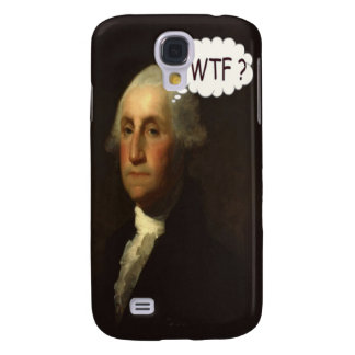 George Washington Spinning In His Grave Funny Galaxy S4 Cover