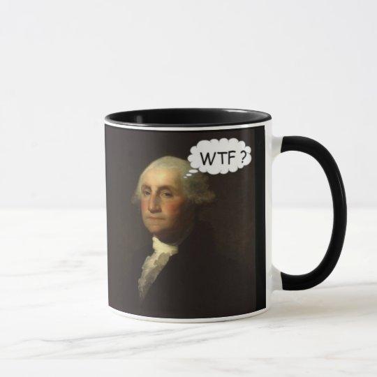 George Washington Spinning in His Grave Funny Mug