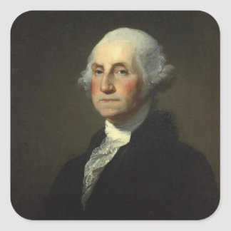 George Washington Square Sticker
