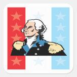 George Washington Square Stickers