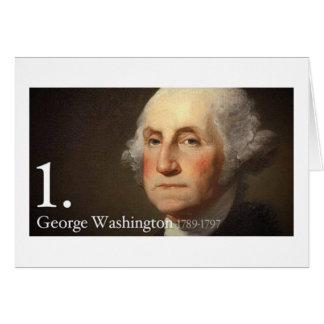 George Washington Tarjeta De Felicitación