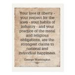 George Washington Tarjetas Postales