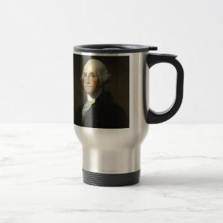 George Washington Taza De Viaje De Acero Inoxidable