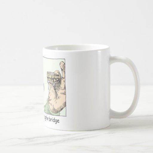 George Washington Teeth Funny Gifts & Collectibles Classic White Coffee Mug
