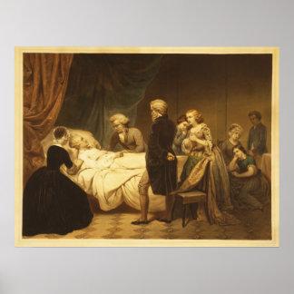 George Washington The Christian death [1853] Poster