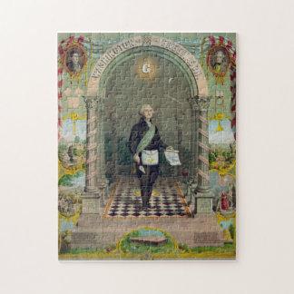 George Washington, The Mason Jigsaw Puzzle