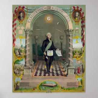 George Washington, The Mason Poster