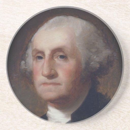 George Washington - Thomas Sulley  (1820) Beverage Coasters