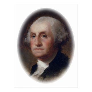 George Washington - Thomas Sulley  (1820) Postcard