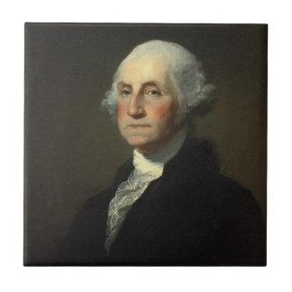 George Washington Small Square Tile