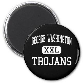 George Washington - Trojans - High - New York Refrigerator Magnets