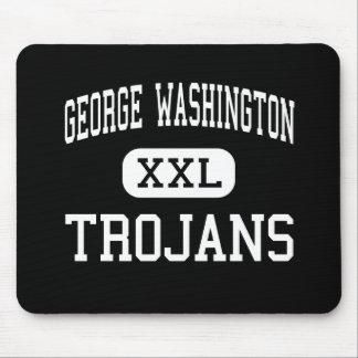 George Washington - Trojans - High - New York Mouse Mat