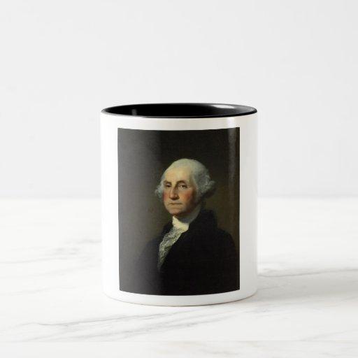 George Washington Two-Tone Coffee Mug