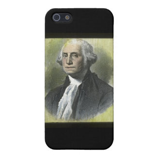 George Washington Vintage Magic Lantern Slide iPhone 5 Cases