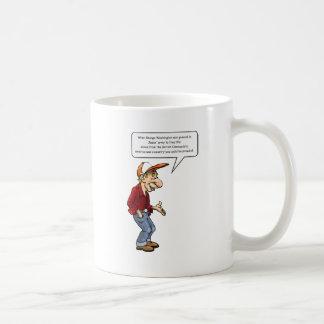 George Washington was general in Jesus' army Coffee Mug