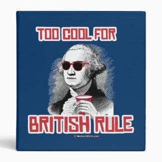 George Washington was too cool for British Rule Binders