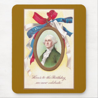 George Washington Watch Fob Mouse Pad