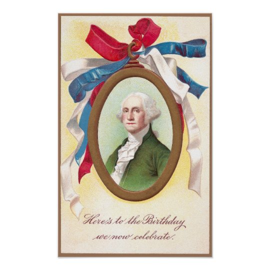 George Washington Watch Fob Poster