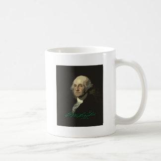George Washington with autograph Coffee Mug