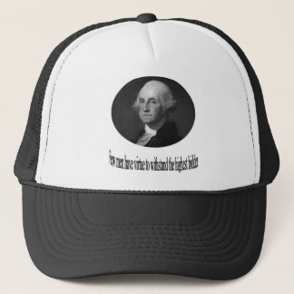 George Washington with quote Trucker Hat