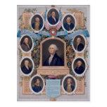 George Washington y los albañiles de la revolución Postales