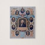 George Washington y los albañiles de la revolución Rompecabezas Con Fotos