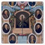 George Washington y los albañiles de la revolución Relojes De Pared