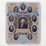 George Washington y los albañiles de la revolución Alfombrillas De Ratones