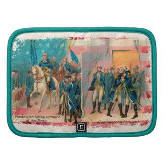 George Washington y planificador de las tropas