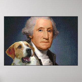 """George Washington y raposero """"belleza"""" 2 de la Posters"""
