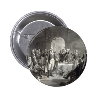 George Washington y su botón de los generales