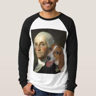 George Washington y su perro Polera