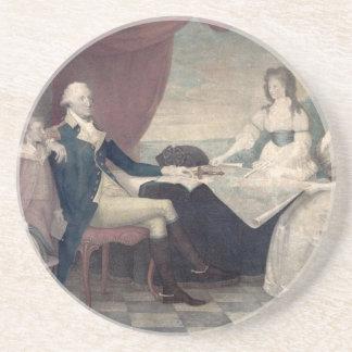 George Washington y su práctico de costa de la fam Posavaso Para Bebida