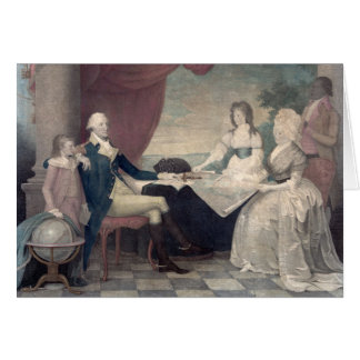 George Washington y su tarjeta de felicitación de